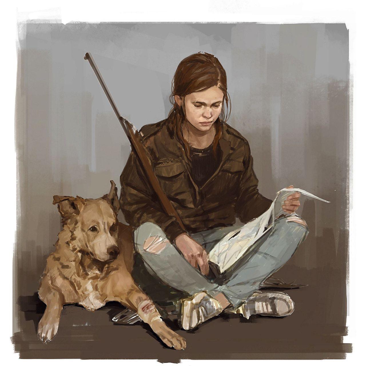تصاویر هنری از The Last of Us Part 2